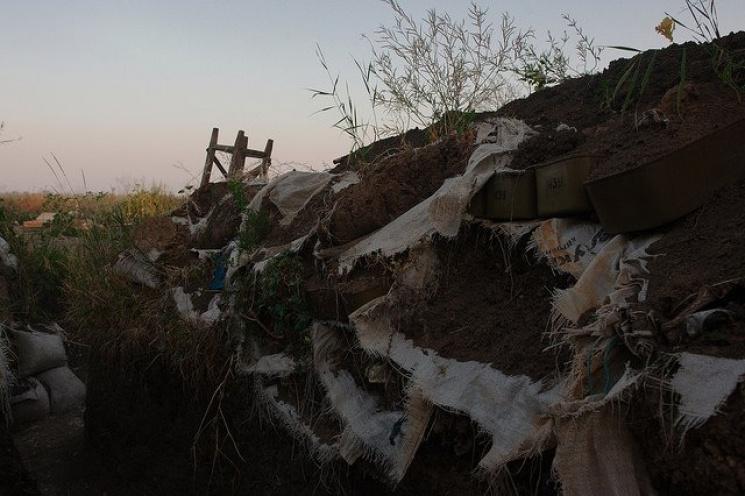 Боевики обстреляли район пункта «Новотроицкое», когда там находился патруль ОБСЕ,— СЦКК