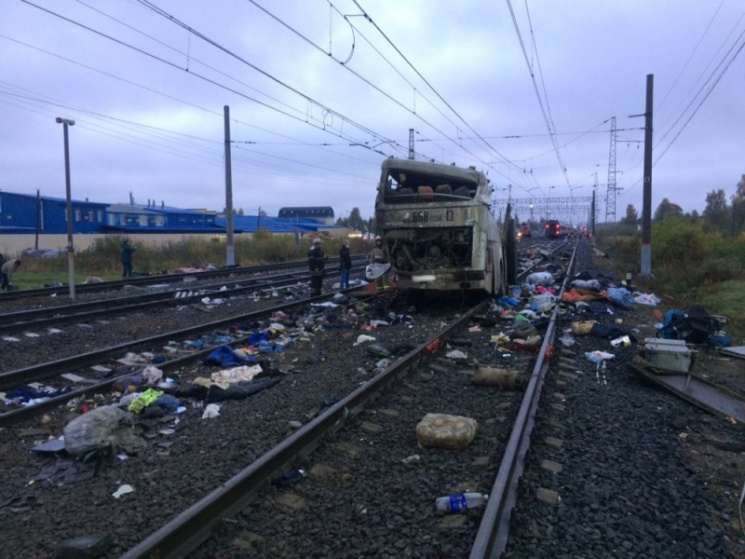 Началось опознание жертв трагедии под Владимиром— Последний рейс