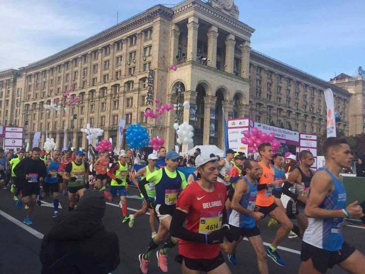 Wizz Air Kyiv City Marathon: під час забігу помер чоловік