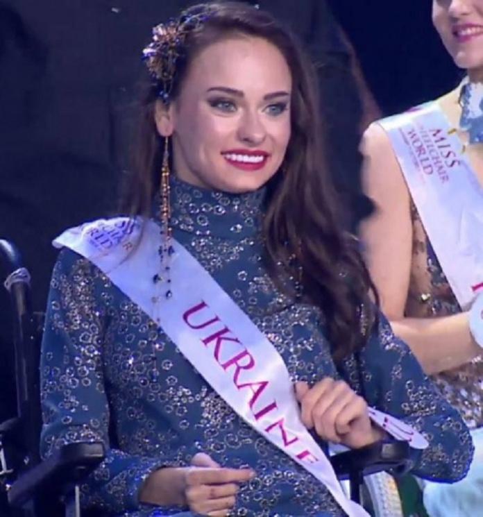 Українку відзначили на конкурсі красунь у інвалідних візках (ФОТО)