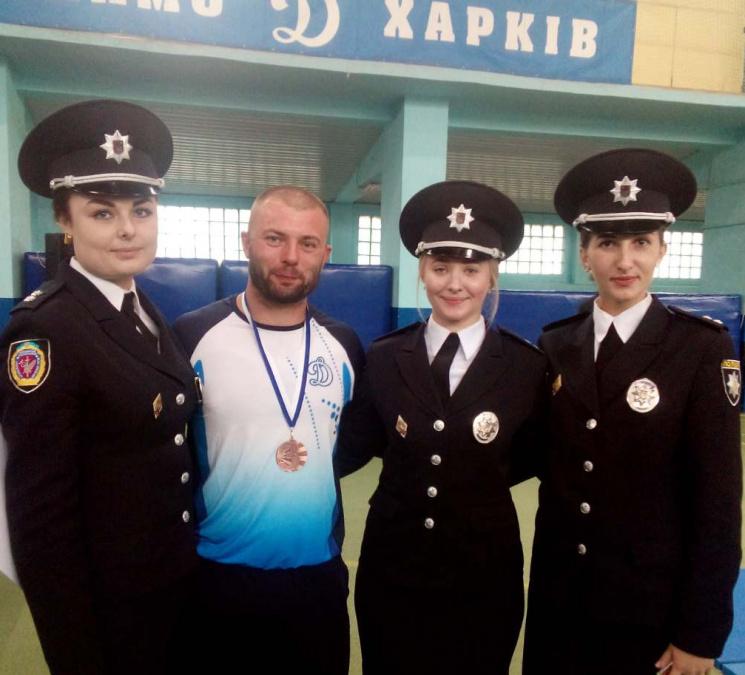 Дільничний з Кропивниччини став третім на чемпіонаті України з самбо