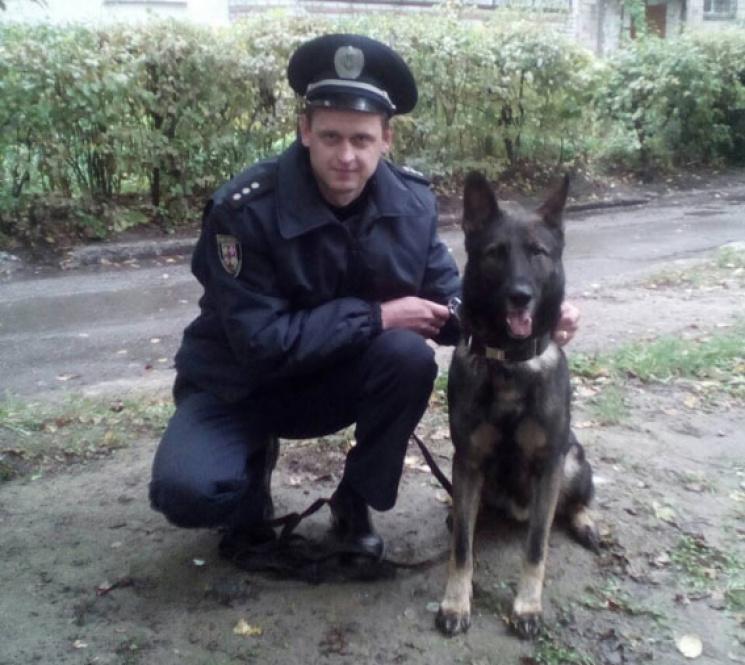 Зниклого вінничанина знайшов службовий пес