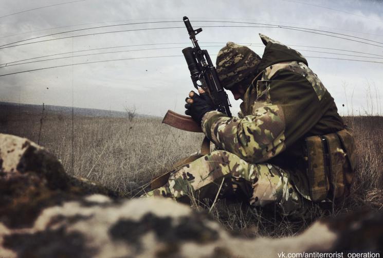 Доба вАТО: поранено одного українського військового