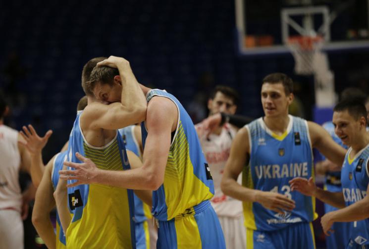 Україна потрапила до Топ-20 кращих баскетбольних збірних світу