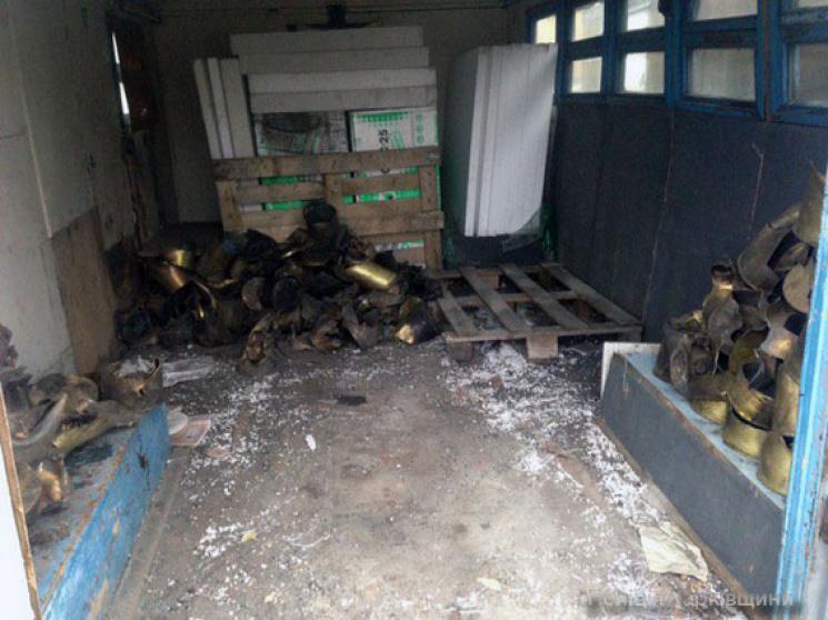 У Балаклії на проммайданчику організували незаконний склад боєприпасів (ФОТО)