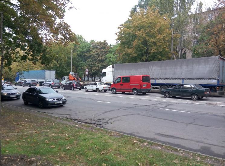 Запорізький чиновник звинуватив безвіз у транспортному колапсі в місті