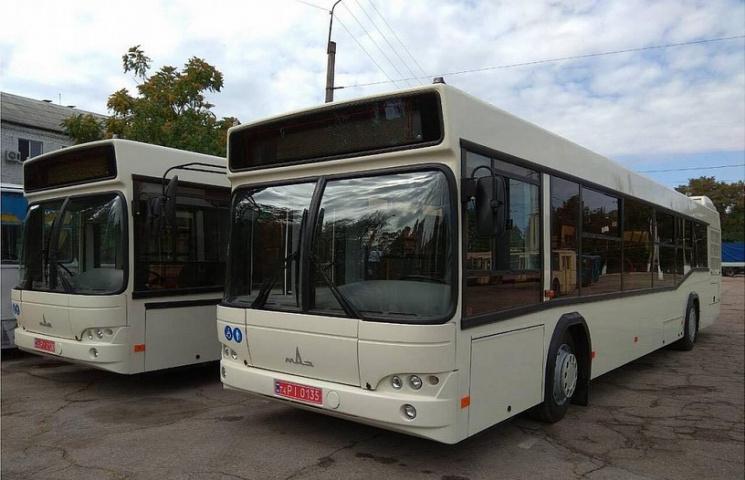 У Кропивницькому нові aвтобуси возитимуть пaсaжирів зa 4 грн до 15 грудня
