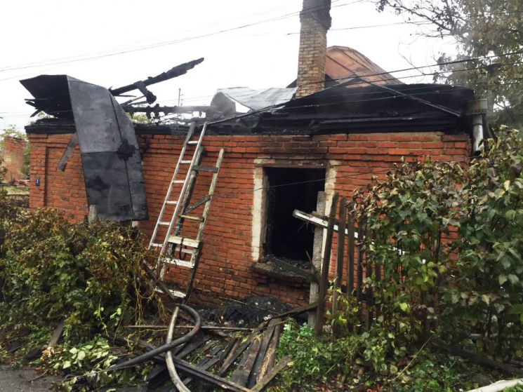 У Житомирі під час пожежі знайшли обгоріле тіло невідомої людини