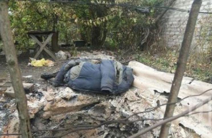 У Кривому Розі знайшли обгорілий труп чоловіка