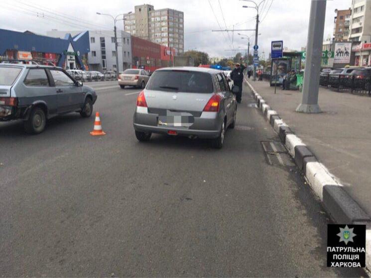 На вулиці Вернадського Suzuki збив необачного пішохода
