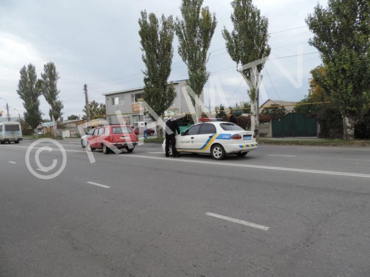 У Мелітополі водій, що потрапив в ДТП, кидався з кулаками на поліцейських (ФОТО)