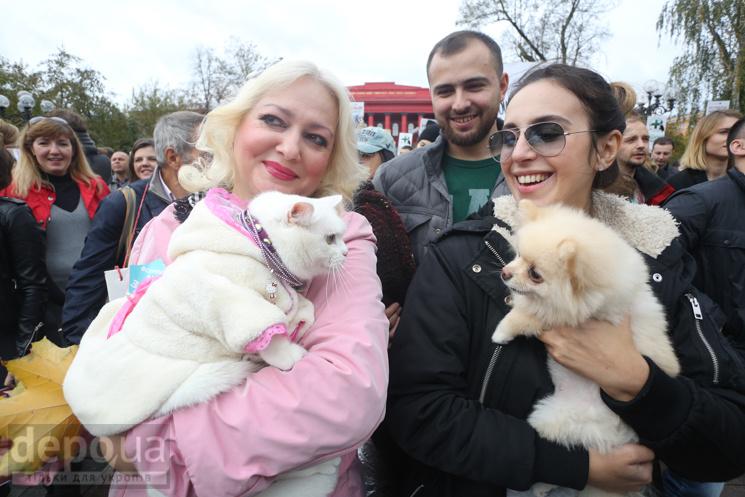 На Марш захисту тварин прийшли Джамала,…