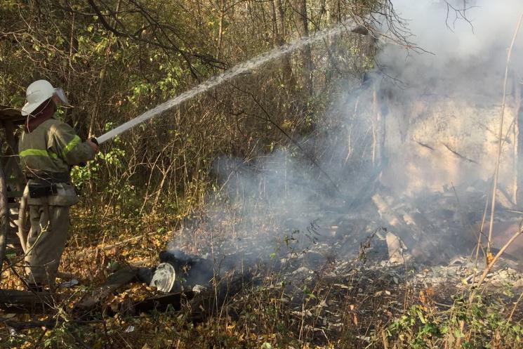 На Харківщині вогонь знищив будинок (ФОТО)
