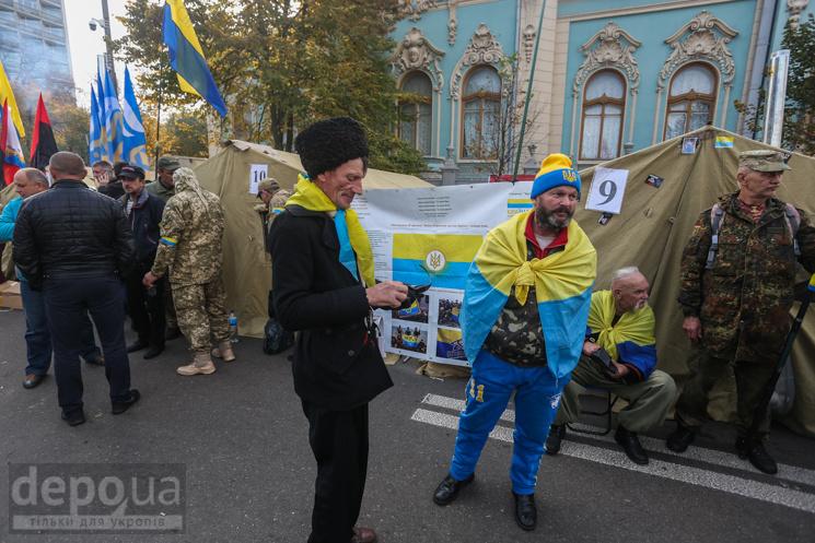 """Как власть выиграла благодаря """"майдану Саакашвили"""""""
