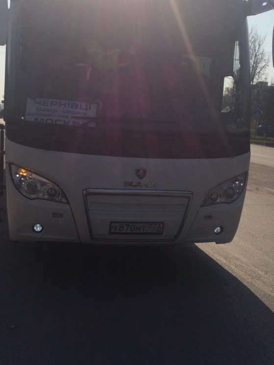 На Хмельниччині водія автобуса-міжнародника оштрафували майже на 20 тис. грн