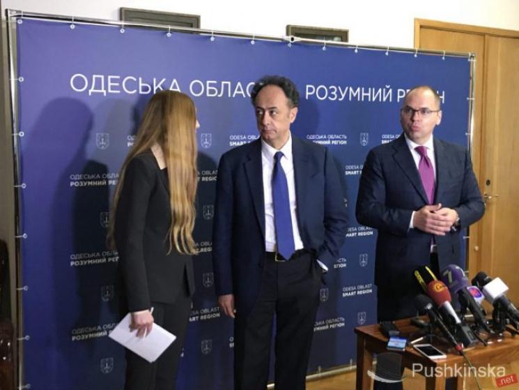 ВОдессу приехал посолЕС вгосударстве Украина