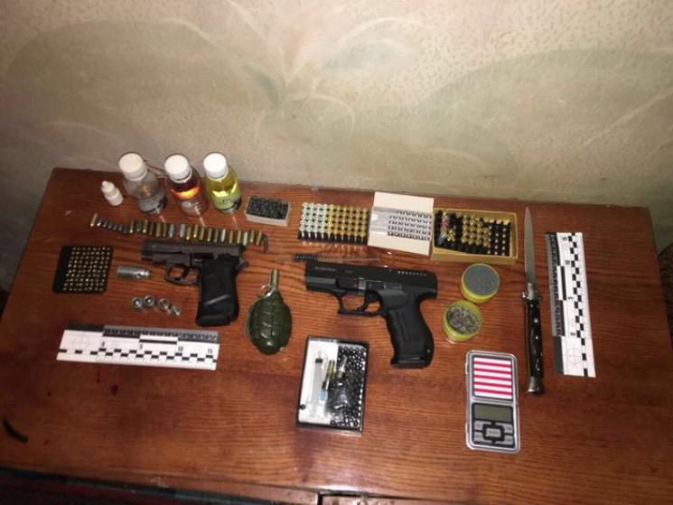 ВОдессе СБУ ликвидировала сеть сбыта контрабандного оружия
