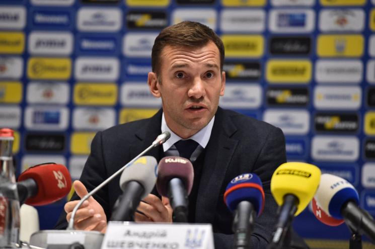 Шевченко объявил состав сборной государства Украины наматч против Словакии