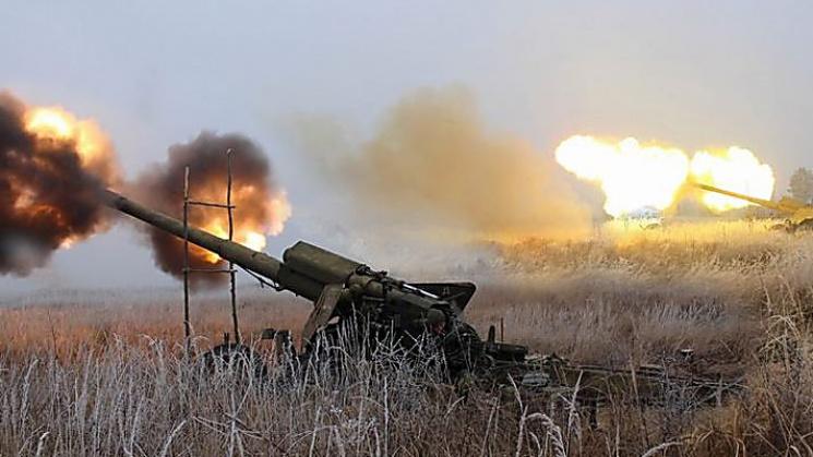Штаб АТО: бойовики застосували міномети наПриморському напрямку