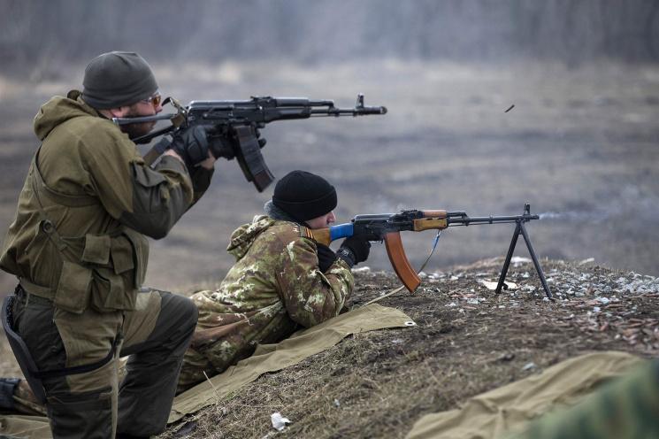 Доба взоні АТО: бойовики проявляли найбільшу активність наДонецькому напрямку