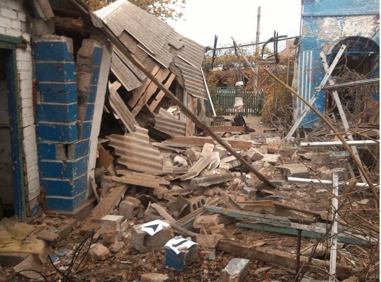 Украинская сторона СЦКК провела фотофиксацию последствий— Обстрел Широкино