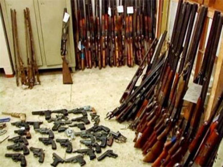 Дві сотні штук зброї і майже півтисячі б…