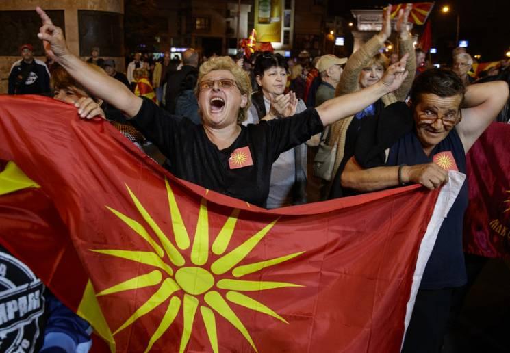 Радость Кремля: Что означает провал референдума в Македонии