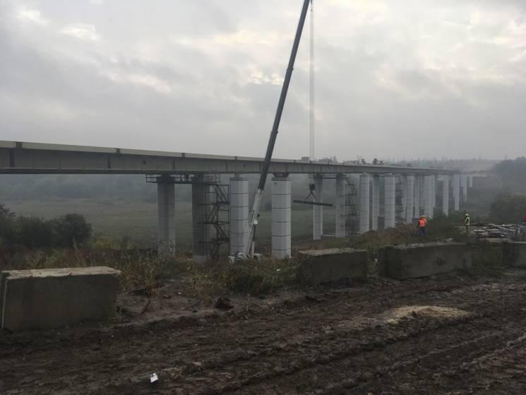 У Полтаві триває будівництво півкілометр…