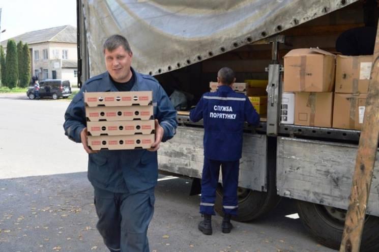 Чернігівщина отримала кілька тонн харчів з Миколаївщини для постраждалих (ФОТО)