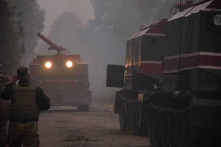 Вибухи під Ічнею: Осередки займання пожежі локалізовано