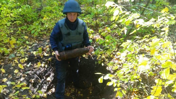 Ще один снаряд знайшли в Погребищенському районі (ФОТО)