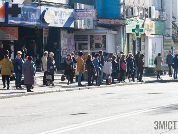 У Полтаві перевізники оголосили страйк через зниження тарифів за проїзд (ФОТО, ВІДЕО)