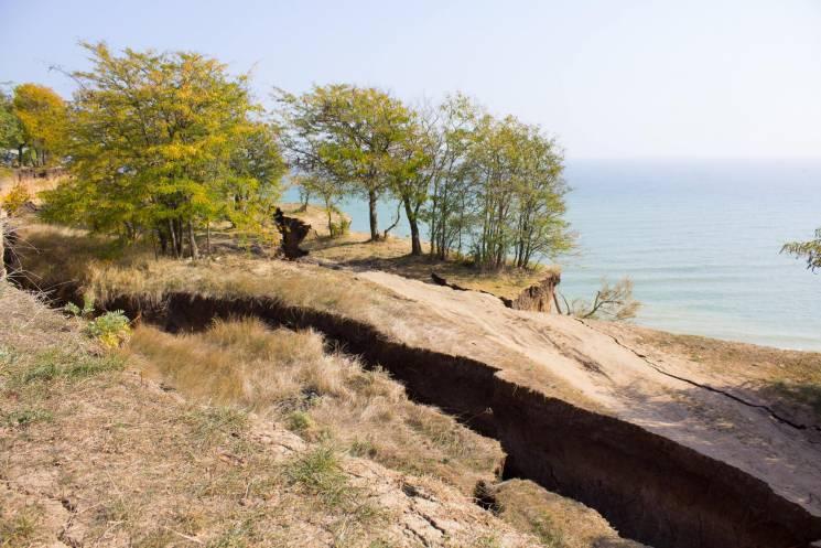 Чорноморську виділили з держбюджету понад 40 мільйонів на боротьбу зі зсувами
