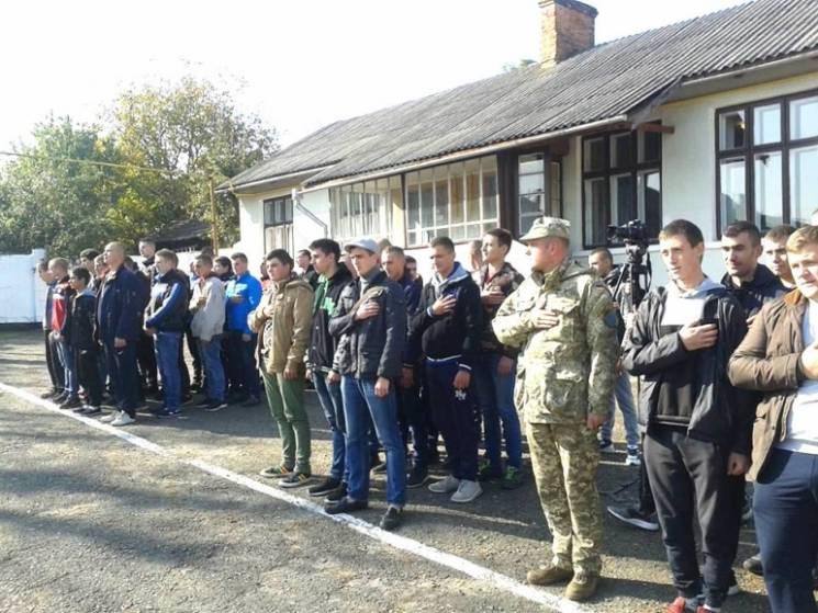 Понад 50 буковинців відправилися до лав збройних сил ЗСУ