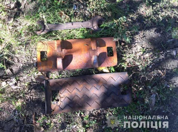 """На Кропивниччині бувший """"зек"""" демонтував на метал колію"""