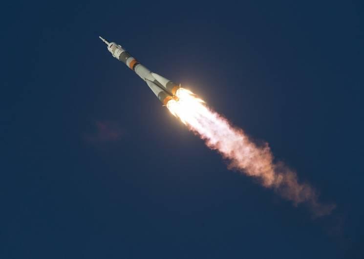 """Під час старту ракети """"Союз""""сталася аварія"""