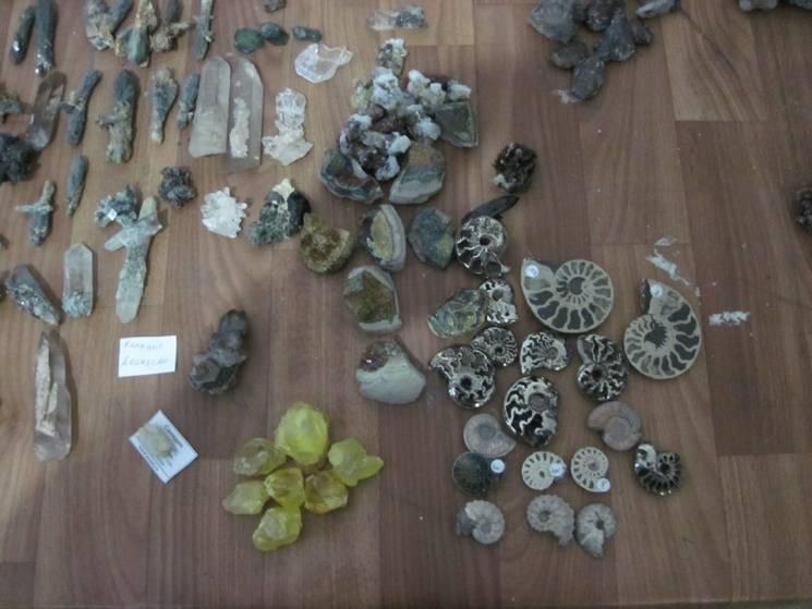 Харківські прикордонники забрали у росіянина шість кіло мінералів (ФОТО)