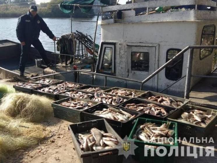На Полтавщині спіймали браконьєрів з уловом в понад 300 кг риби (ФОТО)