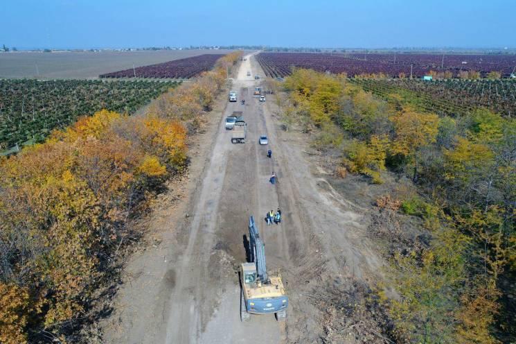 На Одещині почали ремонт ще однієї дороги