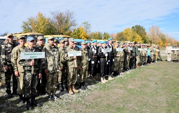 На полігоні неподалік Кропивницького змагаються 34 команди майбутніх захисників
