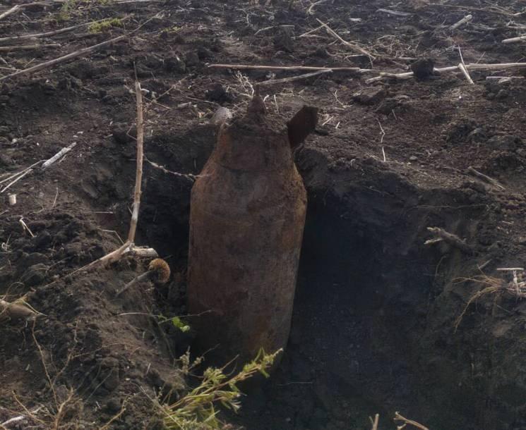 На Дніпропетровщині рятувальники підірвали чергову авіабомбу