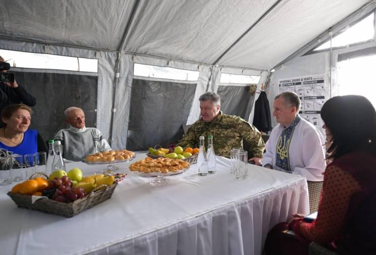 Президент на Хмельниччині зустрівся із ветеранами АТО