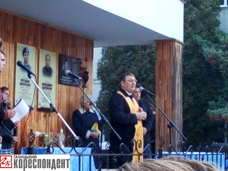 У Франківську відкрили пам'ятні дошки полеглим героям війни (ФОТО)