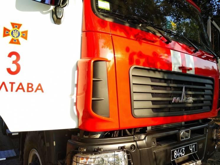 Неподалік Полтави спалахнув житловий будинок