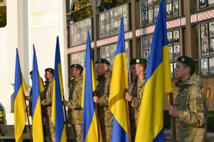 Хмельничани вшанували пам'ять полеглих Захисників України (ФОТО)