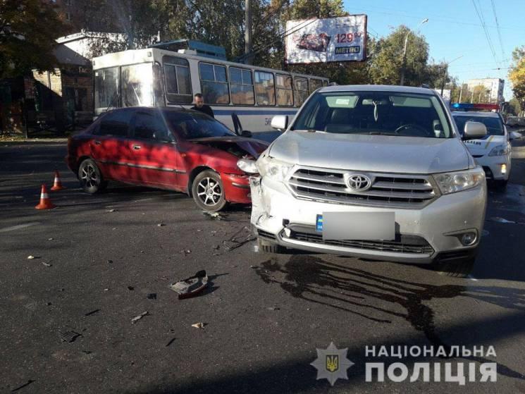 У Полтаві у ДТП на вулиці Степового фронту постраждала одна людина