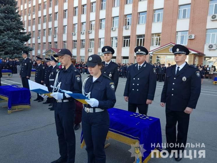 """Першокурсники """"поліцейської академії"""" Дн…"""