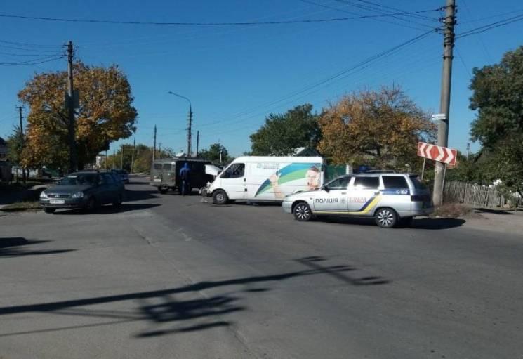 На Запоріжжі у ДТП побилися мікроавтобуси (ФОТО)