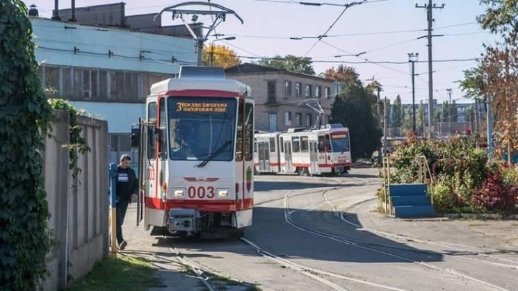 У Запоріжжі на лінію вийшли ще два трамваї з Європи (ФОТО)