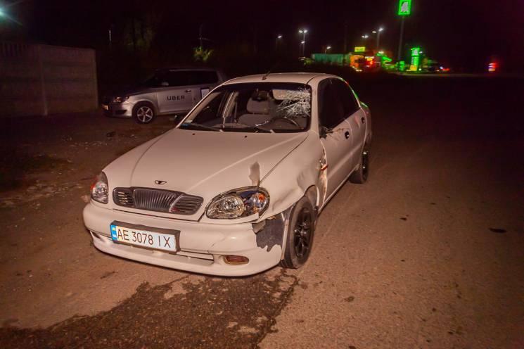 У Дніпрі таксист на смерть збив водія вантажівки (ВІДЕО)